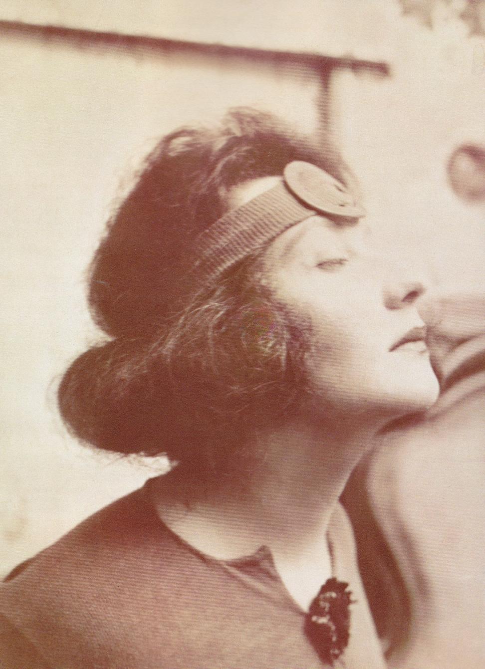 Emmy E. Scheyer, Ascona, circa 1918, Norton Simon Museum, The Blue Four Galka Scheyer Collection Archives, Pasadena, California