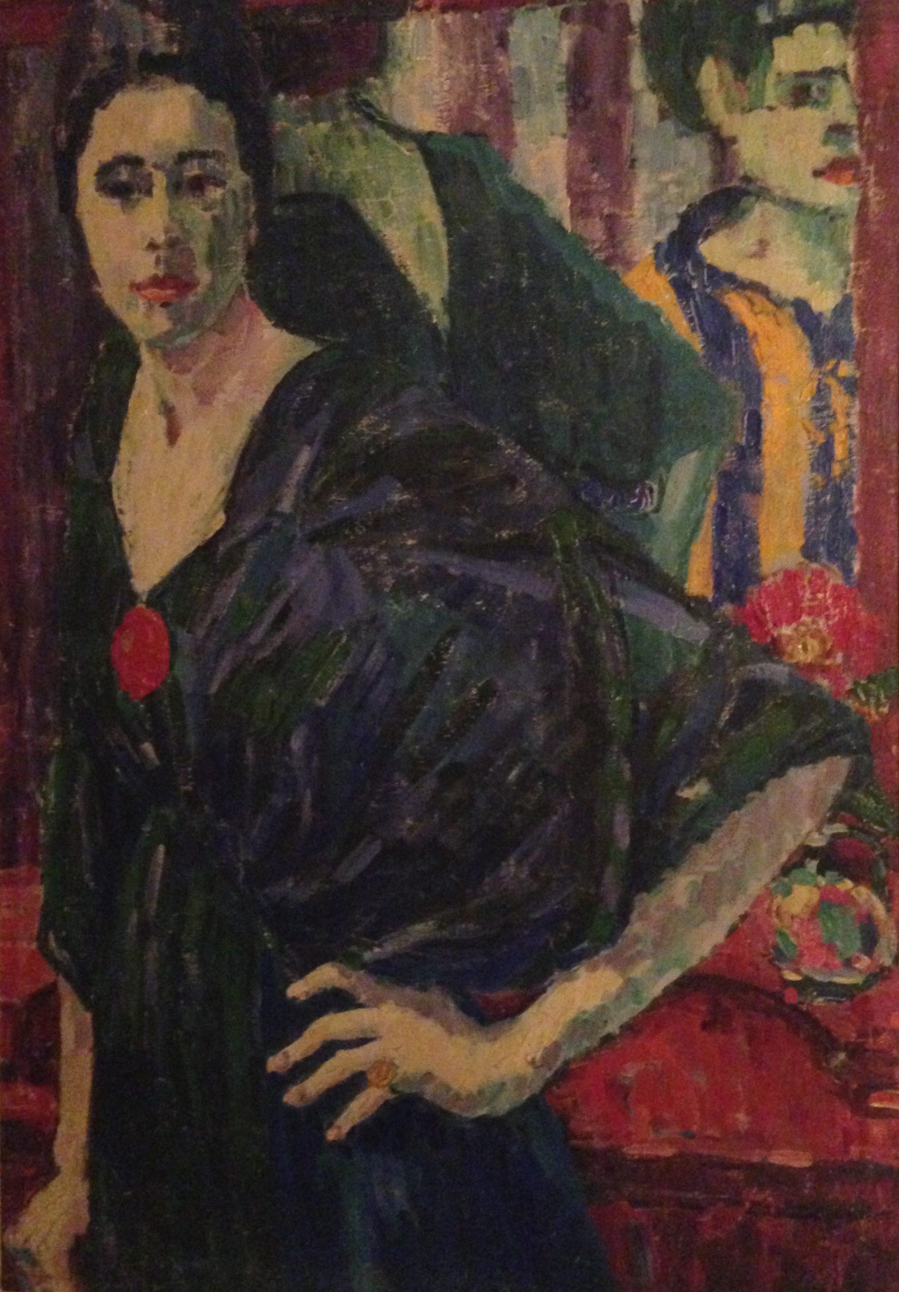 Emmy Scheyer (Renée), Im Frühstückszimmer, 1915, Private Collection, London