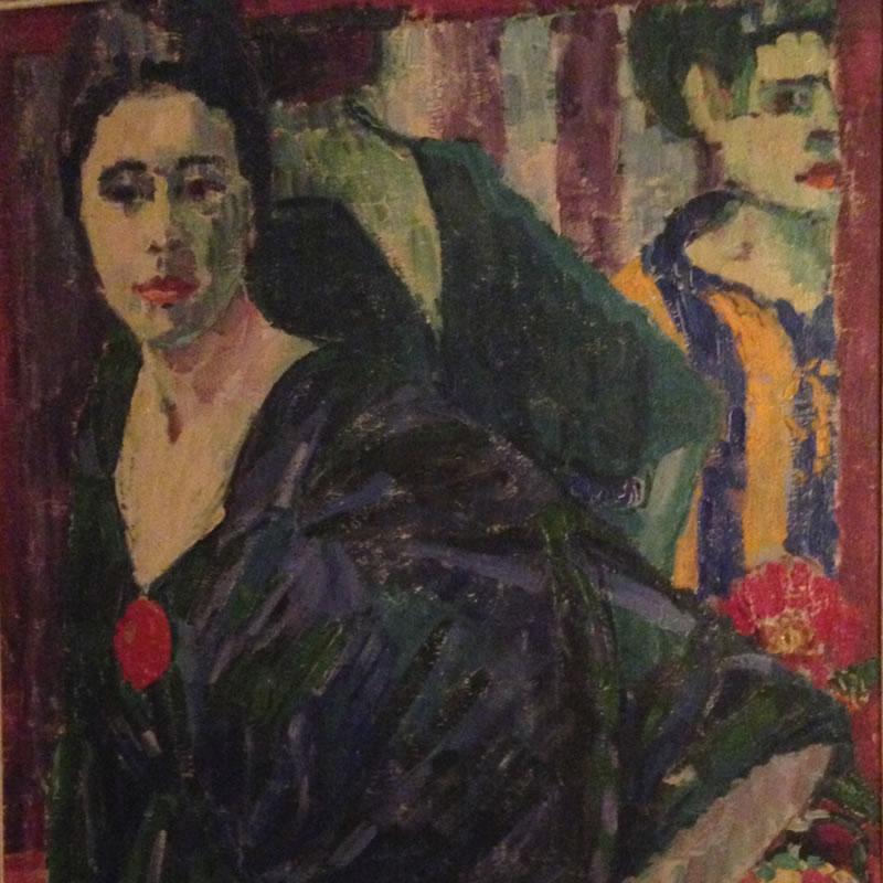 Emmy Scheyer (Renée), Im Frühstückszimmer, 1915, Private Collection, London (Detail)