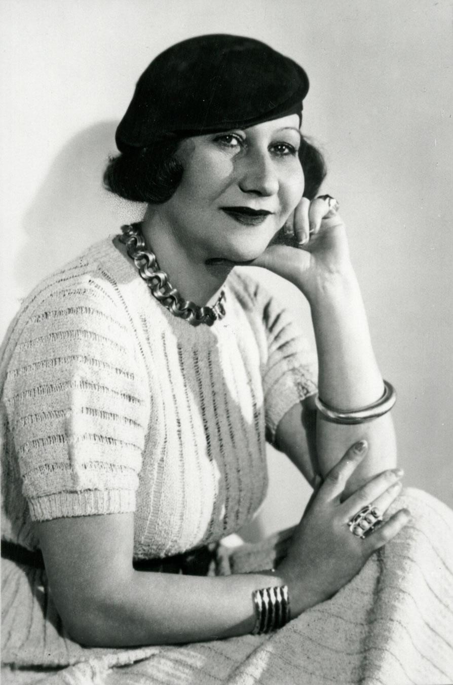 Galka Scheyer, Hollywood, circa 1930, Norton Simon Museum, The Blue Four Galka Scheyer Collection Archives, Pasadena, California