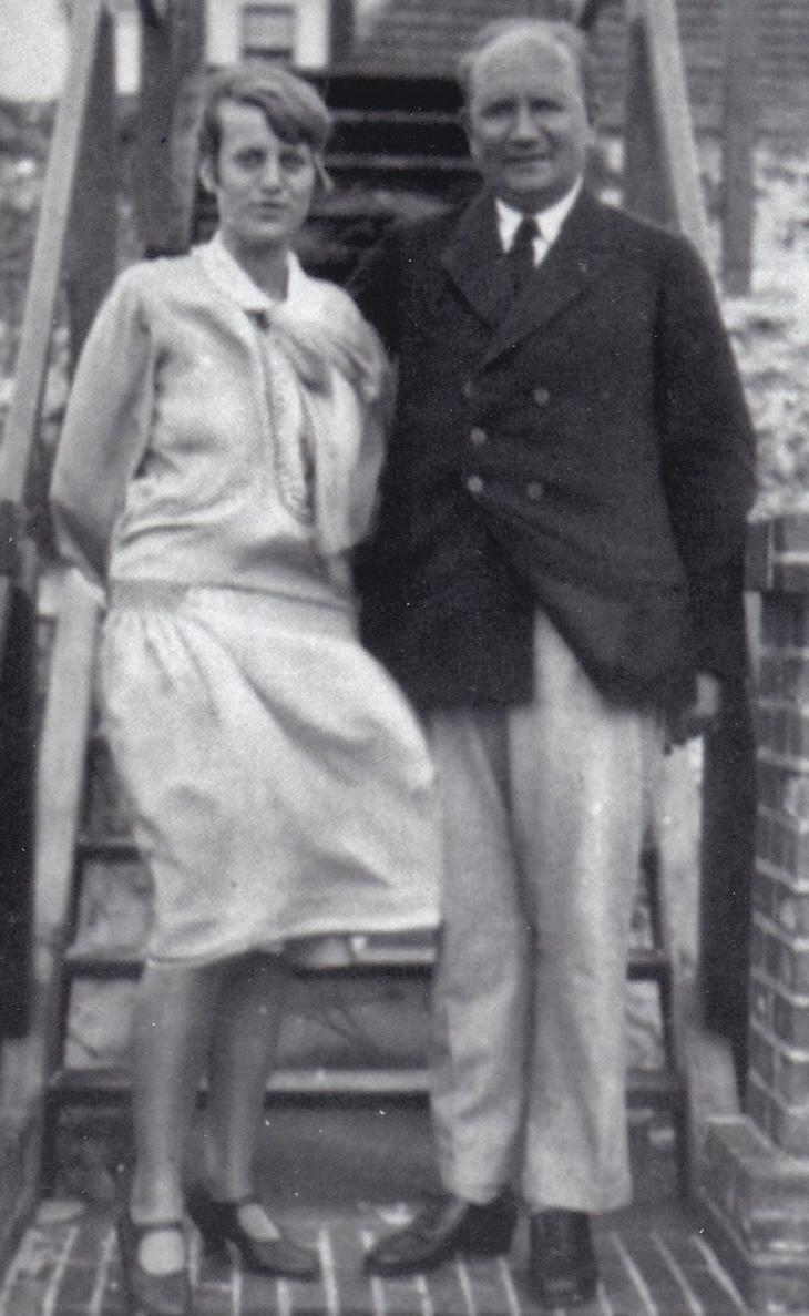 Käte Ralfs und Otto Ralfs, Wangerooge, 1926, Unbekannte Privatsammlung