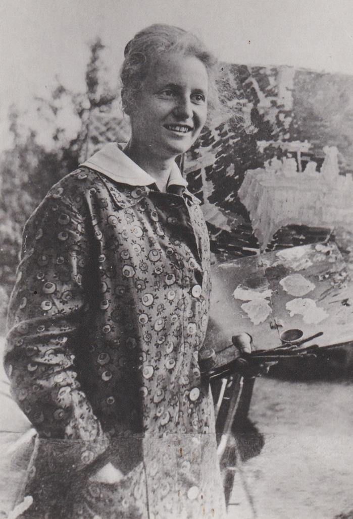 Käthe Evers, 1914, Privatsammlung, Hamburg