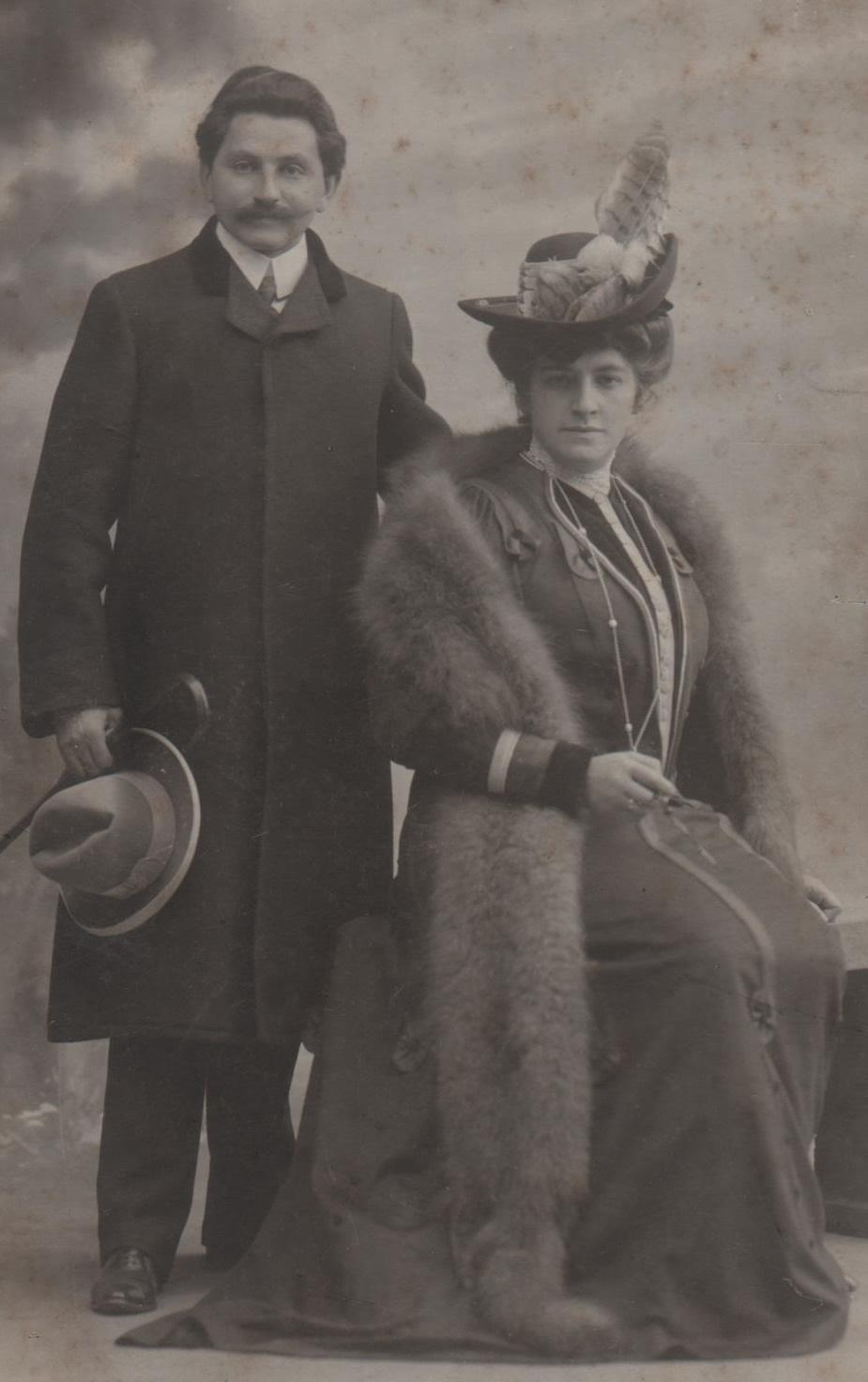 Paul Bachrach und Elvira Bachrach, Collection privée, Bruxelles