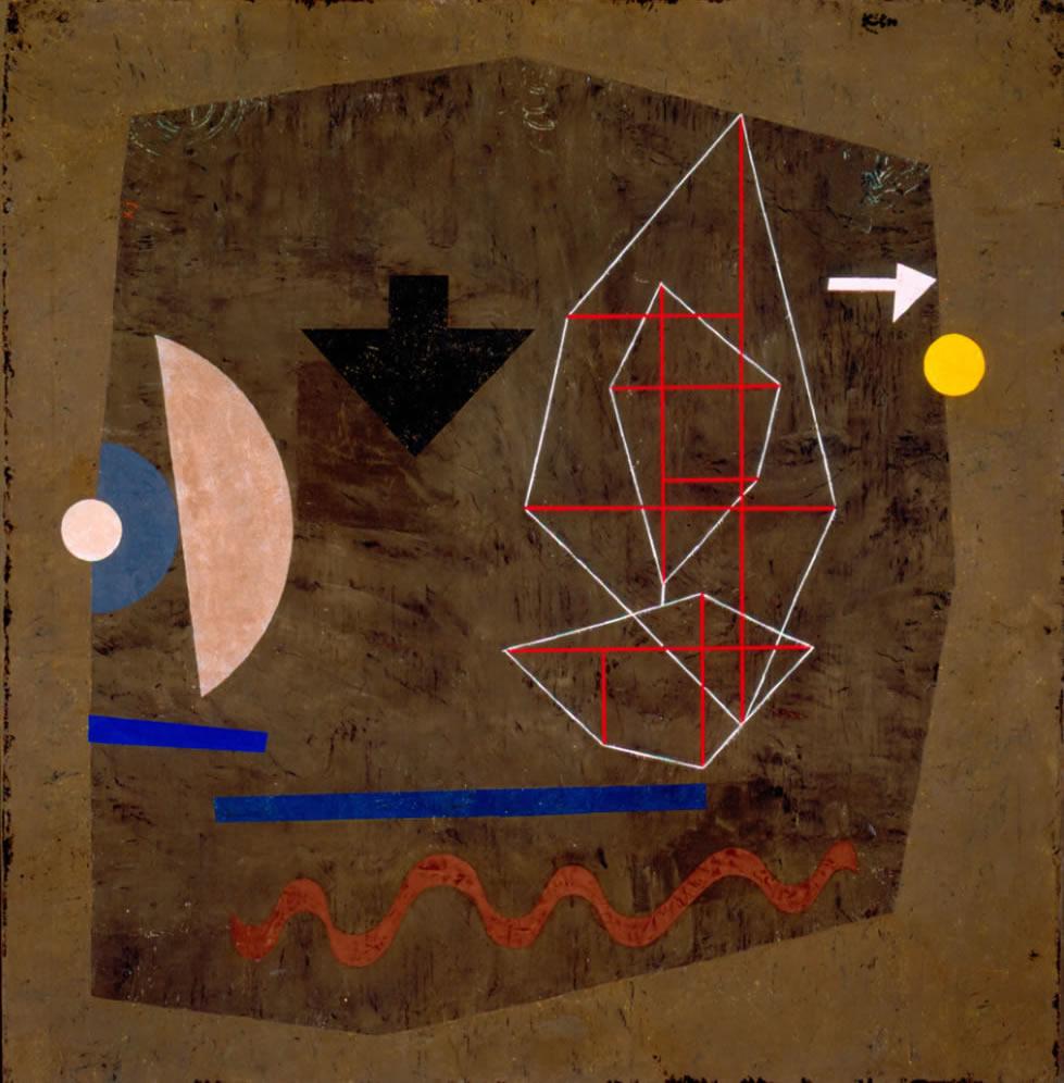 Paul Klee, Mögliches auf See, 1932, Norton Simon Museum, The Blue Four Galka Scheyer Collection
