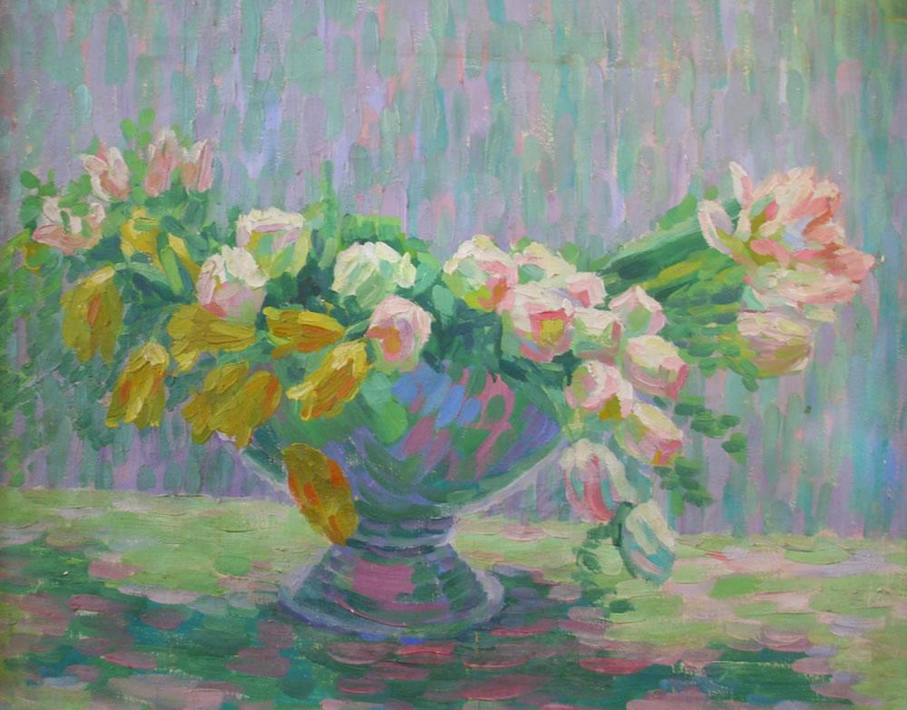 Elsa Daubert, Flowers, Private collection, Hildesheim