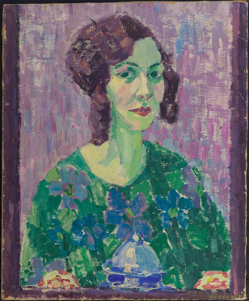 Emmy E. Scheyer (Renée), Self-portrait, 1916, Copyright of Julia Hammid and the Estate of Tino Hammid