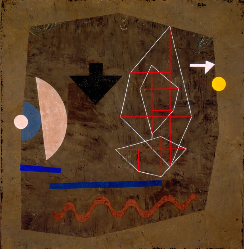 Paul Klee, Possibilities at Sea, 1932, Norton Simon Museum, The Blue Four Galka Scheyer Collection